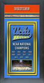UCLA Bruins Framed Championship Banner