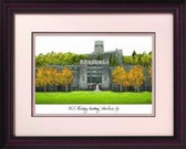 U.S. Military Academy Alumnus Framed Lithograph