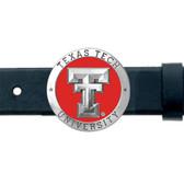 Texas Tech Red Raiders Belt Buckle
