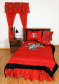 Texas Tech Bed in a Bag Queen - With Team Colored Sheets