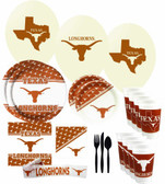 Texas Longhorns Party Supplies Pack #3