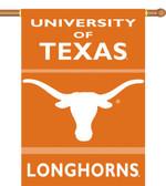 """Texas Longhorns 2-Sided 28"""" x 40"""" Banner w/ Pole Sleeve"""