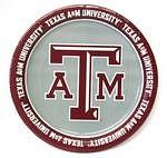 """Texas A&M Aggies 9"""" Dinner Paper Plates"""