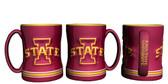 Iowa State Cyclones Coffee Mug - 15oz Sculpted