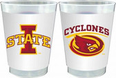Iowa State Cyclones 10 oz. Frosted Cups