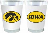 Iowa Hawkeyes 10 oz. Frosted Cups