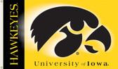 Iowa Hawkeyes   2-Sided 3 Ft. x 5 Ft. Flag w/Grommets