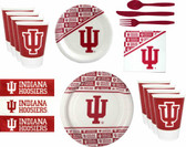 Indiana Hoosiers Party Supplies Pack #2