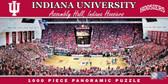 Indiana Hoosiers Basketball Panoramic Stadium Puzzle