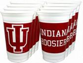 Indiana Hoosiers 16 oz. Cups