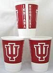 Indiana Hoosiers 16 oz Cups
