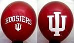 "Indiana Hoosiers 11"" Balloons"