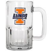 Illinois Fighting Illini 20oz Root Beer Style Mug