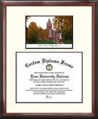 Georgia Institute of Technology Scholar Framed Lithograph with Diploma