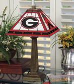 "Georgia Bulldogs 23"" Mission Lamp"