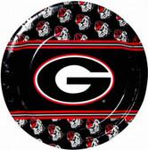 "Georgia Bulldog 9"" Paper Plates"