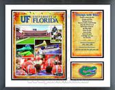 Florida Gators 2008 NCAA Champs Milestones & Memories Framed Photo