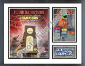 Florida Gators 2006 NCAA Champions Milestones & Memories Framed Photo
