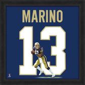 Dan Marino Pittsburgh Panthers 20x20 Framed Uniframe Jersey Photo