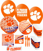 Clemson Tigers Party Supplies Pack #3