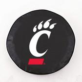 Cincinnati Bearcats Black Tire Cover, Large