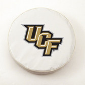 Central Florida Golden Knights White Tire Cover, Small
