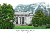 Brigham Young University Lithograph