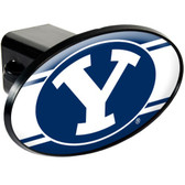 Brigham Young Cougars Trailer Hitch Cover