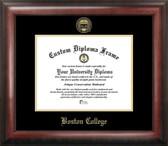 Boston College Eagles Gold Embossed Diploma Frame