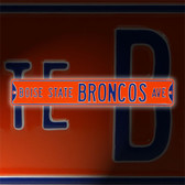 Boise State Broncos Avenue Sign