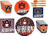 Auburn Tigers Party Supplies Pack #2