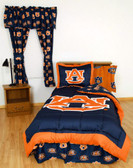Auburn Bed in a Bag Queen - With Team Colored Sheets