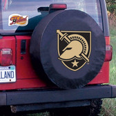 Army Black Knights Black Tire Cover, Large