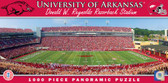 Arkansas Razorbacks Panoramic Stadium Puzzle