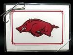 Arkansas Razorbacks Note Cards