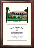 Arizona State University Scholar Framed Lithograph with Diploma