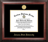 Arizona State University Gold Embossed Medallion Diploma Frame