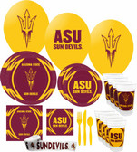 Arizona State Sun Devils Party Supplies Pack #3