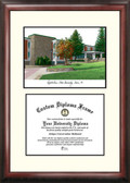 Appalachian State University Scholar Framed Lithograph with Diploma