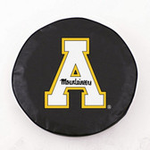 Appalachian State Mountaineers Black Tire Cover, Large