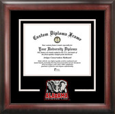 Alabama Crimson Tide Spirit Diploma Frame