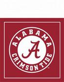 Alabama Crimson Tide Beverage Napkins ALA480-WP