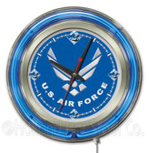 Air Force Falcons Neon Clock