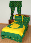 Oregon Bed in a Bag Twin - With Team Colored Sheets