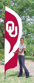 Oklahoma Sooners Tall Team Flag