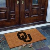 Oklahoma Sooners Flocked Door Mat