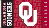 Oklahoma Sooners 2-Sided 3 Ft. x 5 Ft. Flag w/Grommets