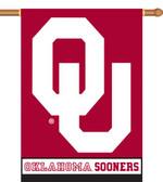 "Oklahoma Sooners 2-Sided 28"" x 40"" Banner w/ Pole Sleeve"