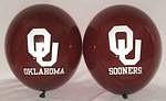 """Oklahoma Sooners 11"""" Balloons"""