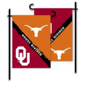 Oklahoma - Texas 2-Sided Garden Flag - Rivalry House Divided
